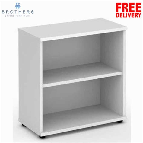 buy white bookcase impulse white 800h bookcase