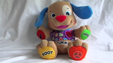 puppy play fisher price fisher price to play plush puppy 2007 laugh learn