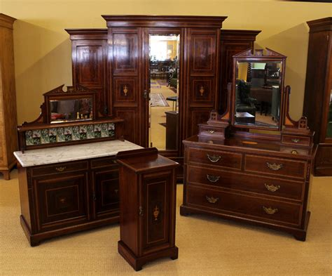 edwardian bedroom furniture edwardian mahogany bedroom suite c 1910 antiques atlas