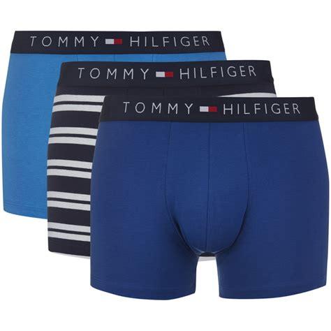 Hilfiger Icon Stripe Trunks hilfiger s icon 3 pack stripe trunk boxer shorts