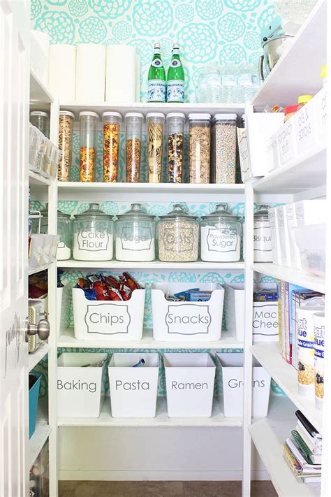 25 best ideas about organized pantry on