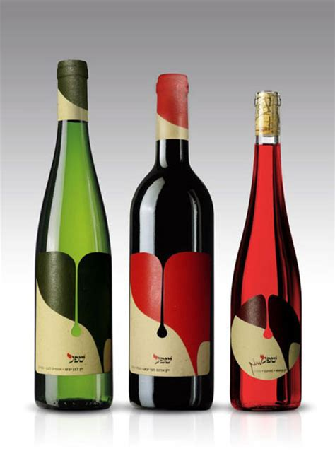 25 brilliant wine label bottle package designs