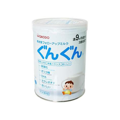 Wakodo Follow Up Gungun 850gr buy wakodo baby milk powder from shiawasedo inc japan