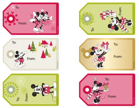 printable minnie mouse christmas gift tags 12 free printable christmas gift tags