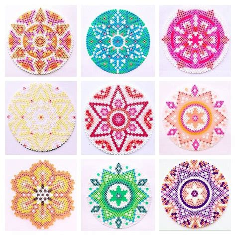 perler circle patterns 55 b 228 sta bilderna om hama p 228 rla p 229 sn 246 flingor
