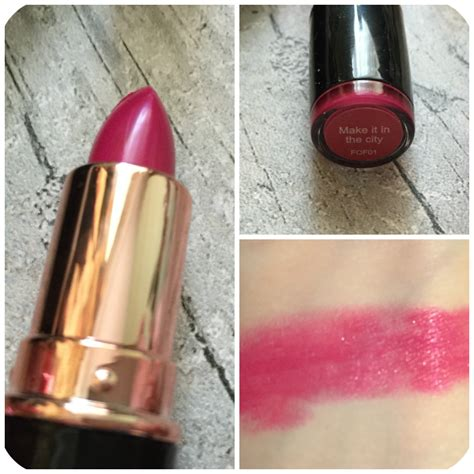 Iconic Pro Make It In The City makeup revolution iconic pro lipstick make it in the city