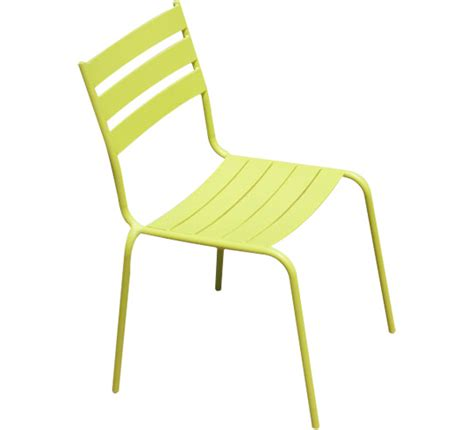 chaise de jardin verte chaise de jardin vert anis 29 salon d 233 t 233