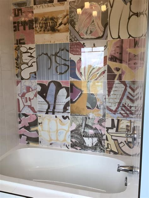 graffiti bathroom tiles 32 best images about gallery kids bathroom on pinterest