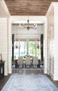 Luxury Home Interior Paint Colors by Shiplap Wood Lake House With Transitional Interiors