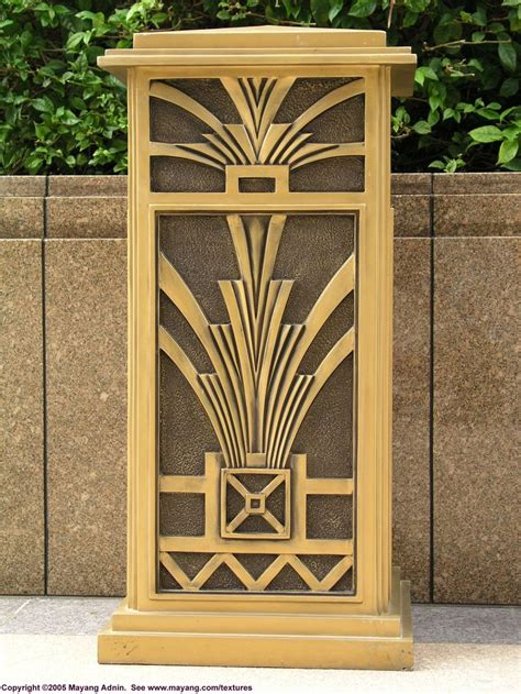 art deco deco trash can art deco pinterest