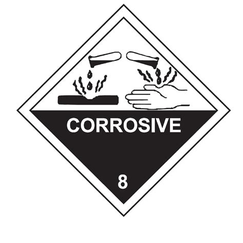 printable corrosive label hazardous waste labeling and marking 101