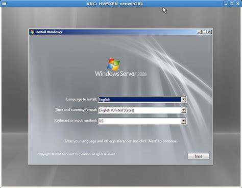 windows 2008 r2 password reset iso windows server 2008 xen hvm installation fails firmware