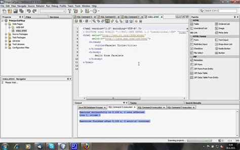 windows installer xml tutorial video netbeans 6 9 1 tutorial javadb jsf xmlschema youtube