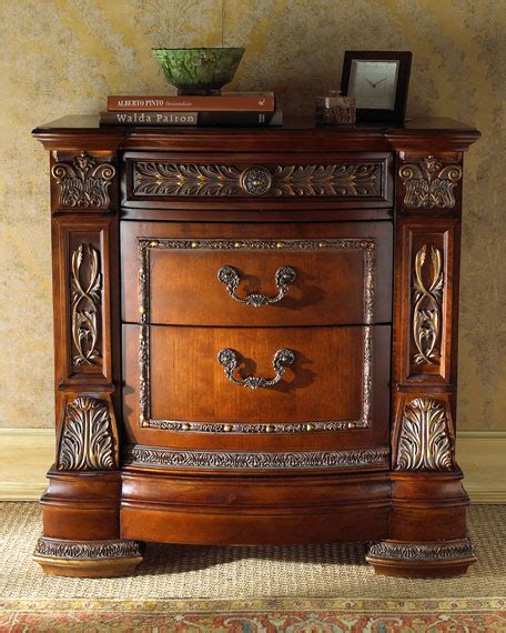 royalty bedroom furniture royalty nightstand