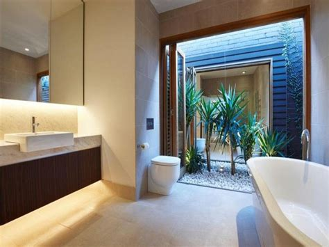outdoor bathrooms australia elegant home in port melbourne idesignarch interior