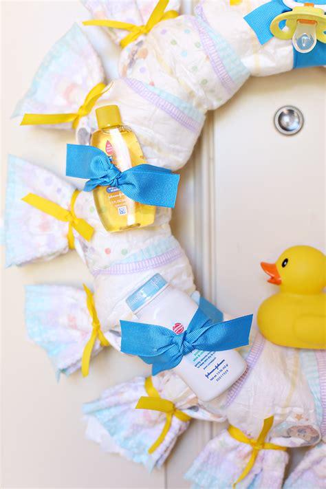 Baby Shower Wreath Tutorial by Craft Baby Shower Wreath See Craft