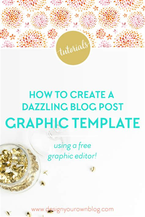 tutorial how to create a dazzling blog post graphic