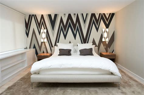 wallpaper bedroom accent wall accent wall ideas for the bedroom home delightful
