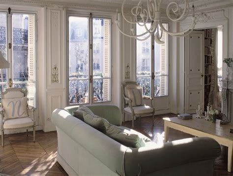 the interiors of the parisian apartments more french shabby chic apartments