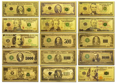 china 5 dollar bill set gold picture more detailed picture about gold