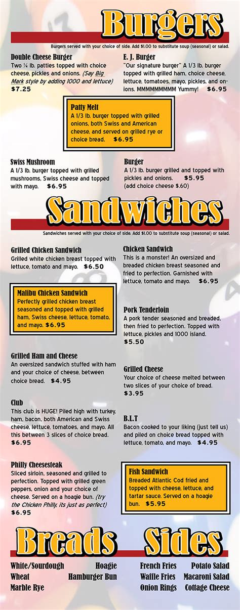 backyard burger lincoln ne ej s lounge grill menu with prices 4700 dudley st