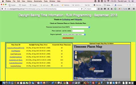 tutorial php html html php timezone feed google chart map tutorial robert