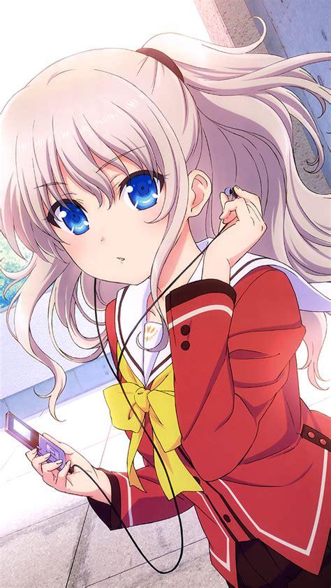 cute anime girl iphone wallpaper art