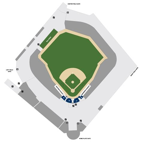 seattle mariners map safeco field map seattle mariners