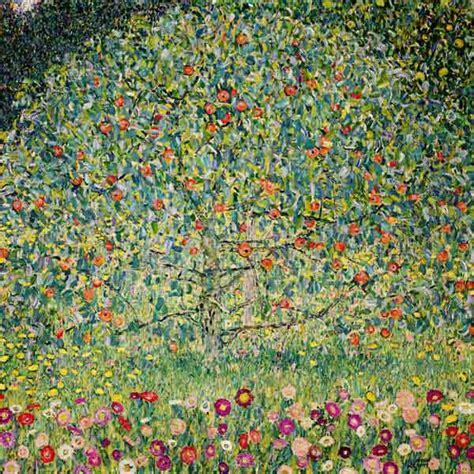 Klimt La by Apple Tree Apfelbaum I Gustav Klimt Als Kunstdruck Oder
