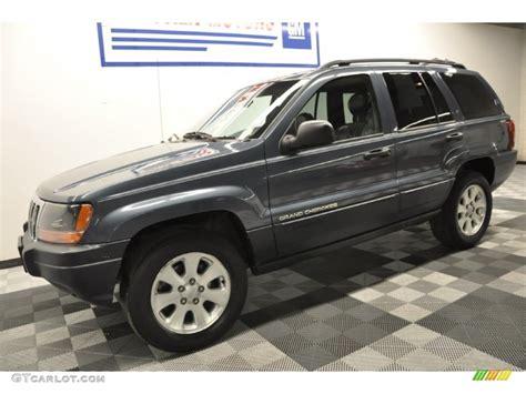 2001 gray jeep grand 2001 graphite grey pearl jeep grand laredo 4x4