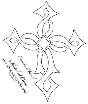 printable religious stencils cross stencil designs and free stencils