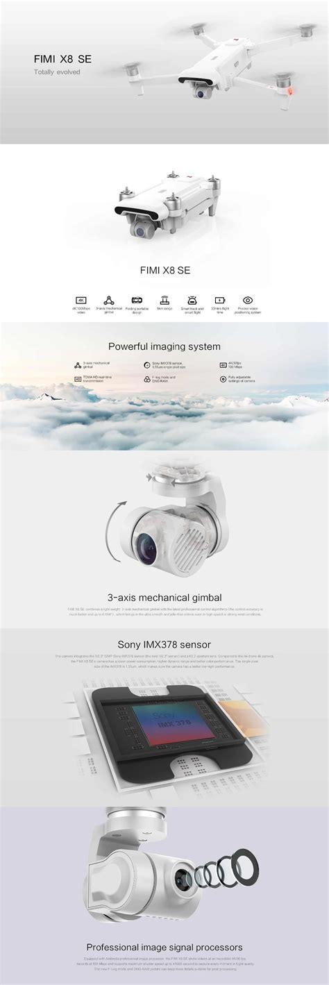 xiaomi fimi  se fpv mi drone   camara drone profesional de largo alcance km  minutos