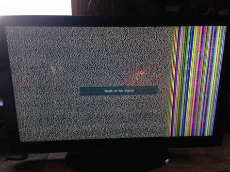 Plasma Screen Cracked No Picture