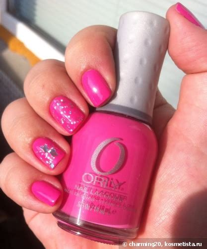Basket 40234 Orly by Orly Nail Lacquer Basket 40234 в обнимку с El Corazon