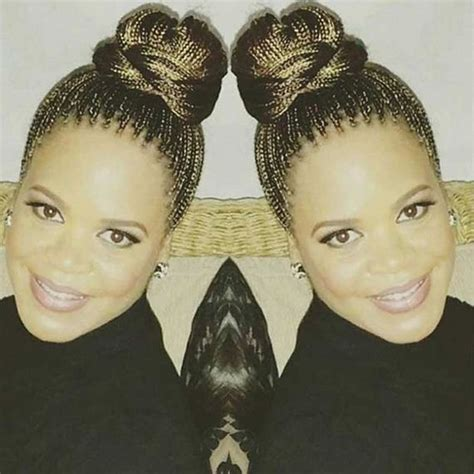 Micro Braid Updo Hairstyles by Amazing Micro Braids Hairstyles