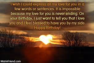 Happy Birthday Wishes Sentences Birthday Wishes For Wife Page 2