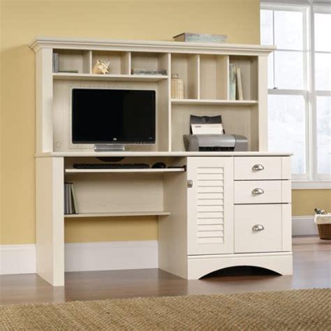 antique white desk with hutch white computer desk with hutch