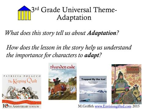 universal themes gifted education universal theme adaptation envision gifted