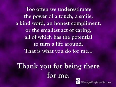 thank you letter to a friend for being there thank you lupie thoughts