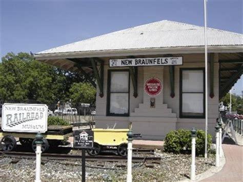 railroad museum depot new braunfels