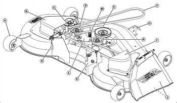 l130 belt diagram deere la130 mower deck belt diagram car interior design