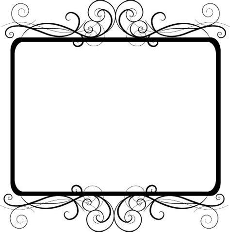 frame design bg frame clipart transparent background pencil and in color