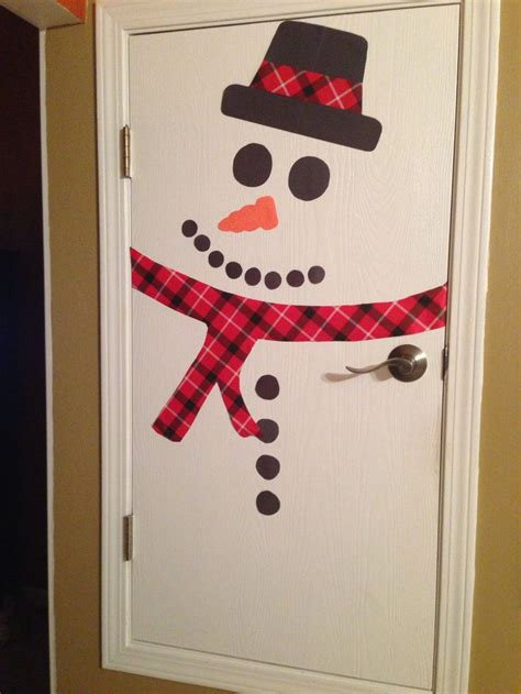 Snowman Door by Snowman Door Classroom Ideas