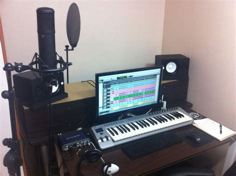 bedroom music studio setup mini home recording studio setup www imgkid com the