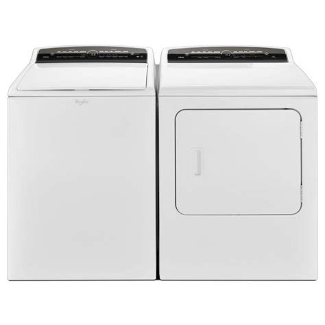 Whirlpool Cabrio WTW7040DW 4.8 cu. ft. HE Top Load Washer