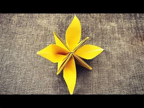 Yenyen Tulip 折纸百合花 漂亮的百合折纸 doovi