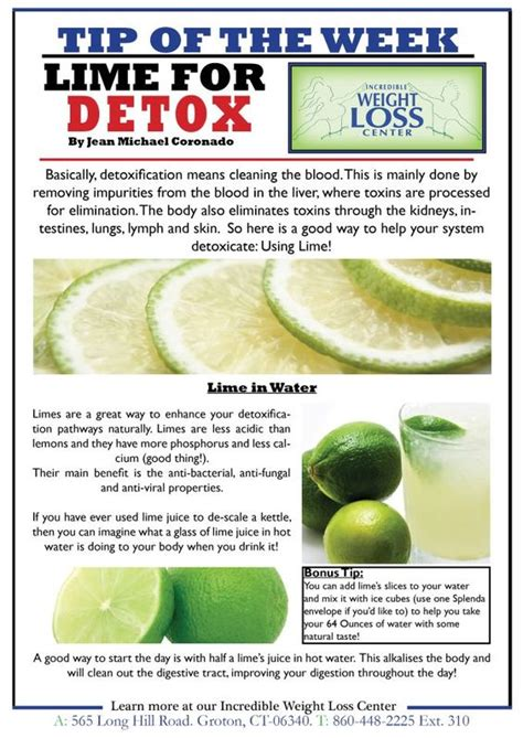 Lime Detox by Lime For Detox Tutty Fruity Smoothies And Beverages