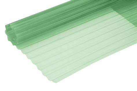tettoie ondulato rotolo ondulato 200x500 cm verde in vetroresina bricoman