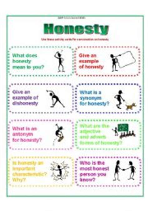 Honesty Worksheets by Honesty Worksheets Abitlikethis