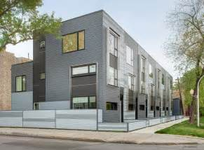 flexhouse eco friendly row homes in chicago design milk